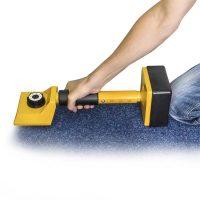 Stretcher zum Teppich verlegen