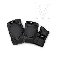 Protektoren Set schwarz 6-teilig – M