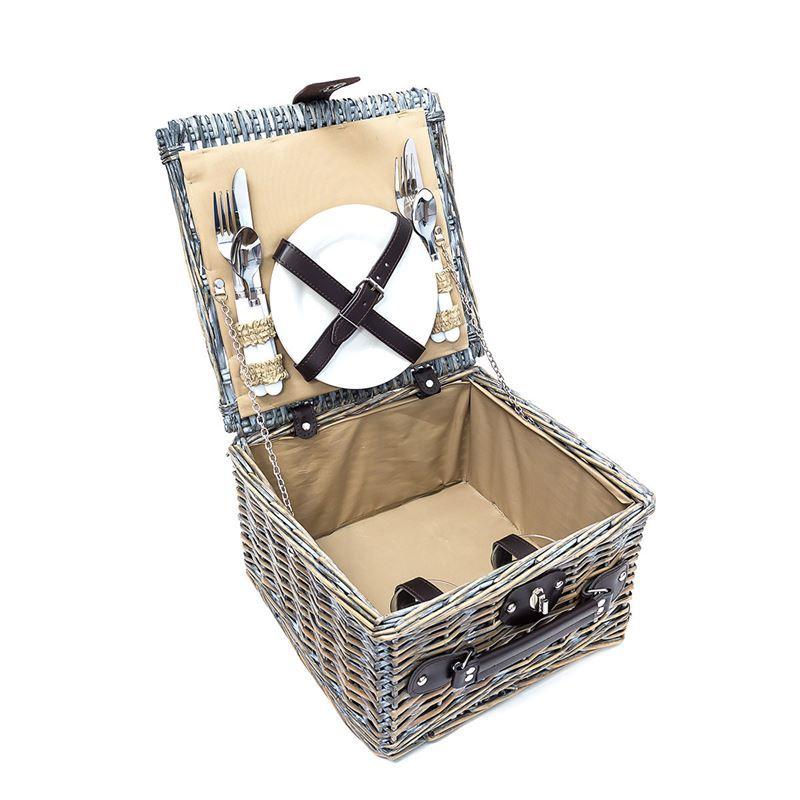 picknickkorb mit geschirr 2 personen der shop. Black Bedroom Furniture Sets. Home Design Ideas