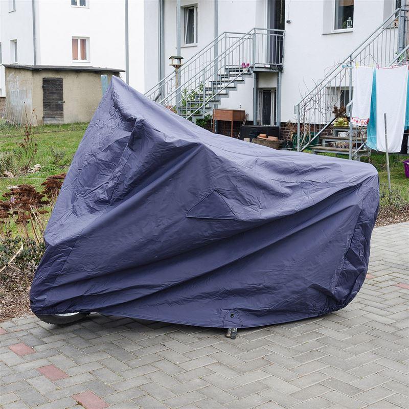 Motorradabdeckung Baumwolle - Größe: L