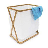 Wäschesammler Bambus LINEA groß