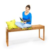 Sitzbank aus Bambus