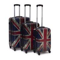 Hartschalenkoffer Set mit Motiv – UK