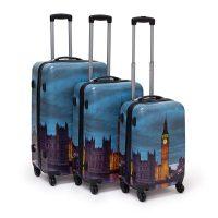 Kofferset 3 teilig verschiedene Motive – London