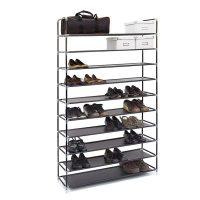 Schuhregal für 50 Paar Schuhe – Schwarz