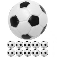 10 Tischfussball Kickerbälle, Ø 31mm ABS