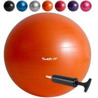 Profi Gymnastikball inkl. Pumpe, Ø 75cm – Orange