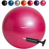 Profi Gymnastikball inkl. Pumpe, Ø 75cm – Pink