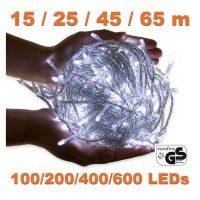 600 LED Lichterkette – Kaltweiss 65m weihnachten