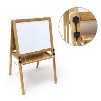 Magnetische Bambus Kindertafel – Weiss