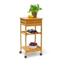 Küchenrollwagen JAMES M & Flaschenregal Küchenwagen