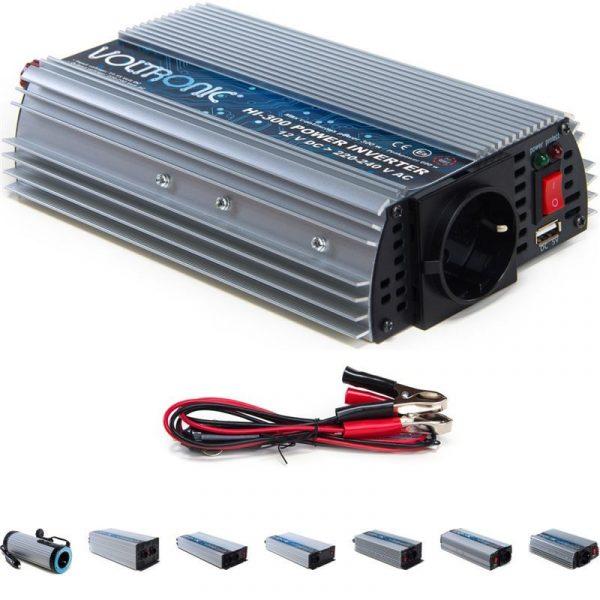 Spannungswandler Inverter 12V auf 230V 300W USB