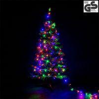 200 LED Lichterkette – Bunt 25m weihnachten