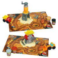 Play-doh: Play-Doh Baustellen Spielset 2 Dose Knete und Baustellen- Zubehör