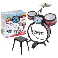 .: Schlagzeug Metallisiert 68x50x50 cm