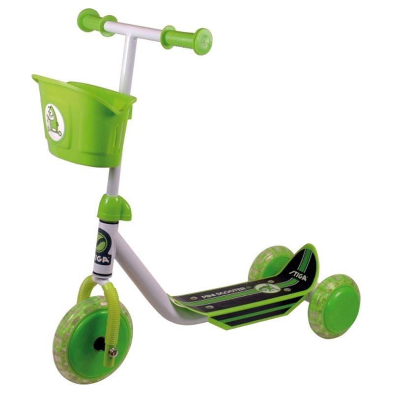 stiga scooter mini kid 3w gr n ab 3 jahren der shop. Black Bedroom Furniture Sets. Home Design Ideas