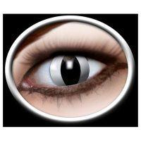 Zoelibat: Kontaktlinse Cat black ISO 3-lagig in Optikerqualität ISO 0120, ISO 13485, ISO 9001