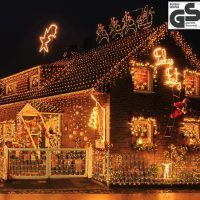 400 LED Lichterkette – Warmweiss weihnachten