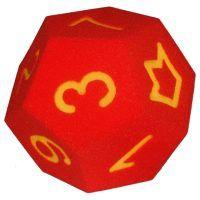The Happy Cube: Schaumstoffwürfel 12 Flächen mit Zahlen von 0-10 und Joker