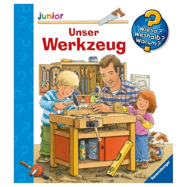 ravensburger unser werkzeug wieso weshalb warum junior ab 2 jahren der shop. Black Bedroom Furniture Sets. Home Design Ideas