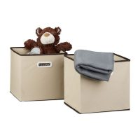 Faltbox 2er Set – Beige