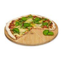Pizzateller Bambus