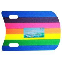 Max Sports: Schwimmbrett Rainbow 50×30 cm